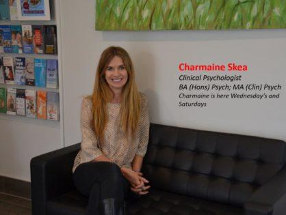 Charmaine Skea – BA(Hons) Psych, MA(Clin)